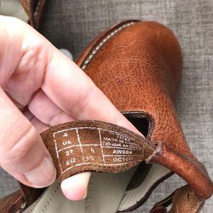 Dr. Martens Shoes - Doc Martens Brown Leather Clogs